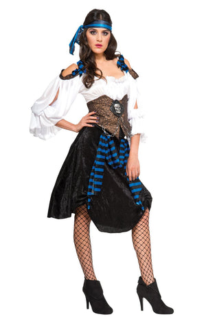 Adult Rum Runner Pirate Ladies Costume