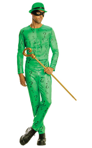 Adult Classic Riddler Mens Costume