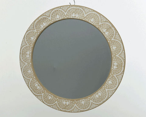 Glass Mirror With MDF Frame