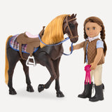 Thoroughbred Poseable Horse - Equestrian - Our Generation