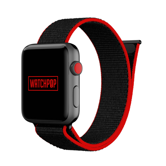 Fuc*ing Red Black/Red Watch Pop Loop for Apple Watch 1, 2 & 3