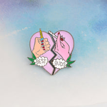 Best Buds Friendship Pin