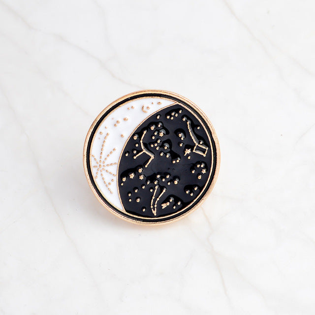 Constellation Enamel Pin