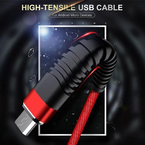 2 in 1 Charging & Data Transfer Cable (For Android and iOS)