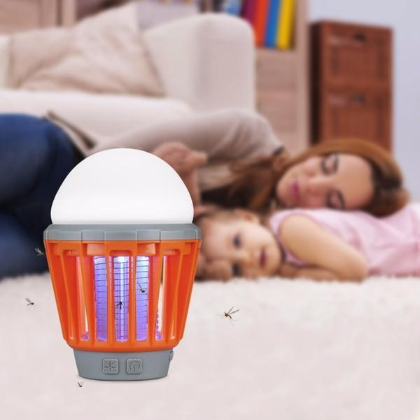 2-in-1 Mosquito Repellent LED Lamp