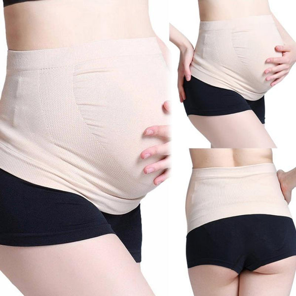 High Waist Prenatal Belly Care Comfortable Tummy Control