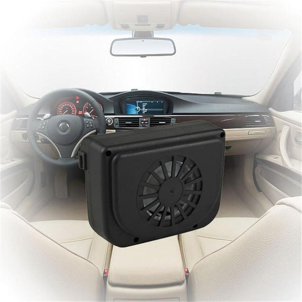 Sola-Powered Car Cooler