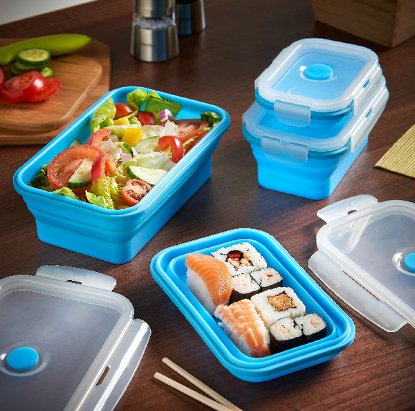 Surprising Collapsible Lunchbox (3 pcs set)