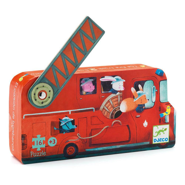 Djeco Puzzle The Fire Truck 16pc