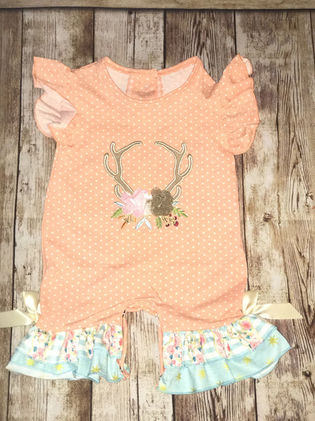 Oh Deer Infant Romper