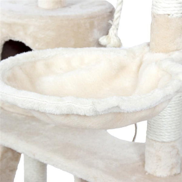 Cat Scratching Climbing Tree
