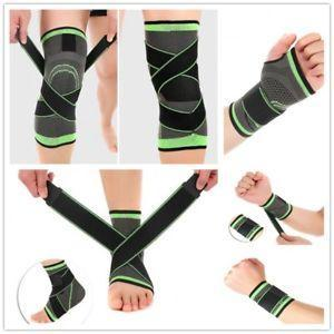 3D Ankle Compression Pad Support