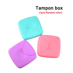 "Tamponger(5/6pk) med ""tampon box"""