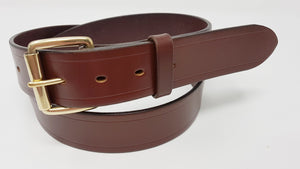 "(No13)  40"" Trouser size 1  1/2"" wide Australian Nut Bridle Leather Belt"
