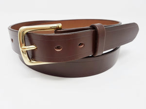 "(No116)  42"" Trouser size 1  1/4"" wide Australian Nut Metropolitan Leather Belt"