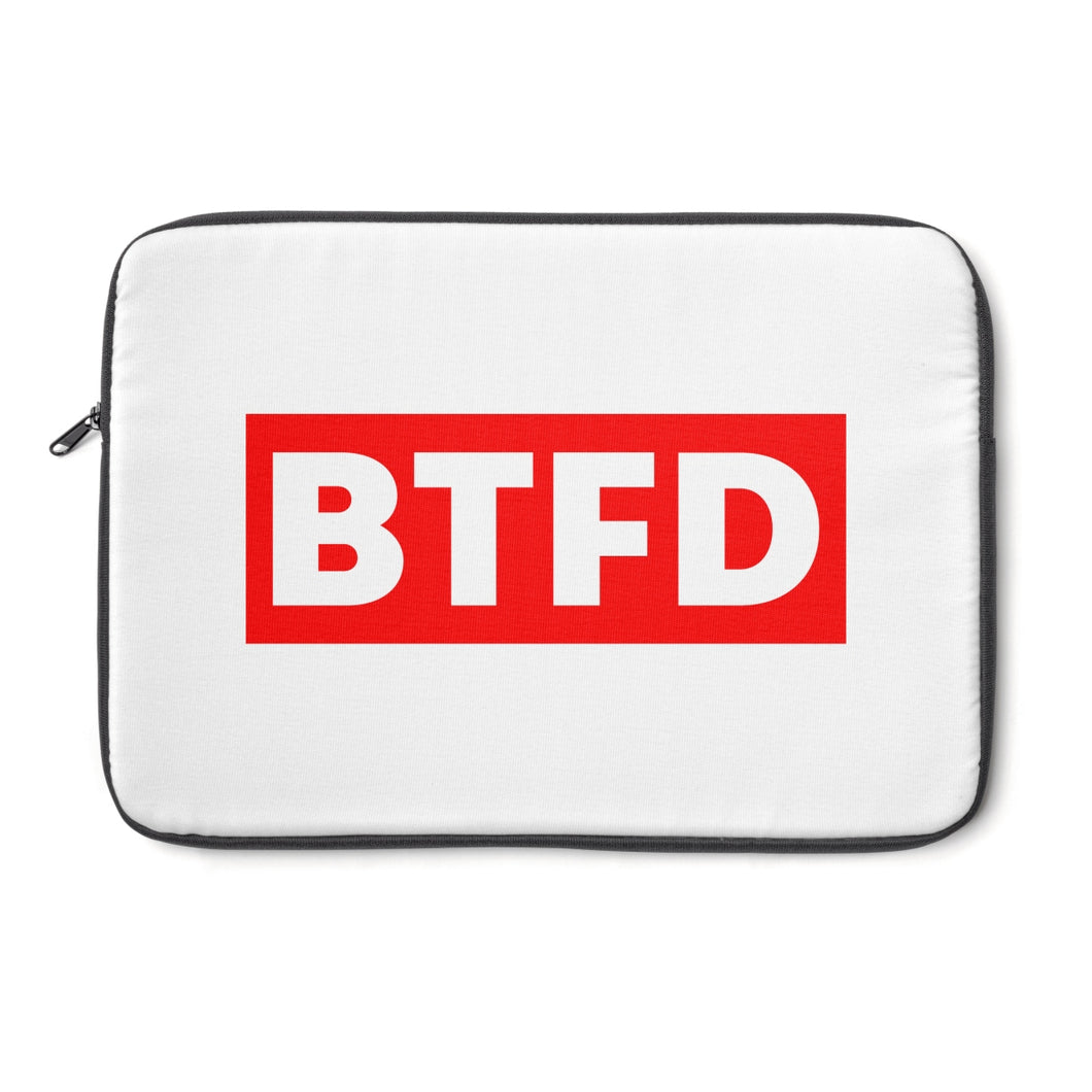 BTFD Laptop Sleeve | Cryptotshirt.com