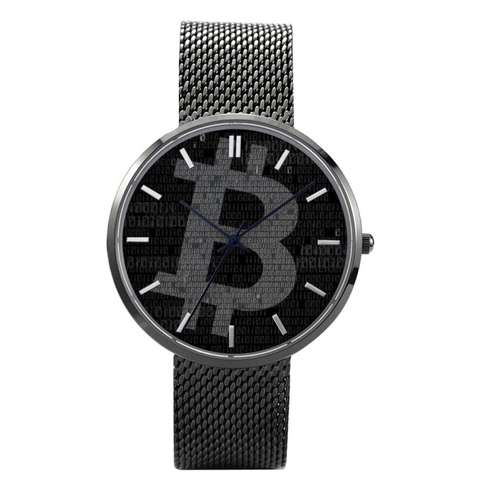 Bitcoin Quartz Watch | Cryptotshirt.com