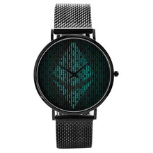 Load image into Gallery viewer, Ethereum Quartz Watch | Cryptotshirt.com