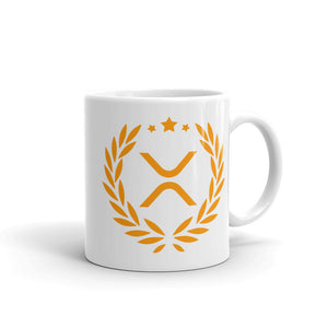 The XRP Ceramic Coffee Mug | Cryptotshirt.com