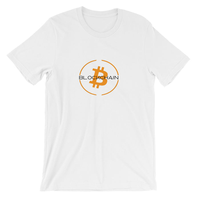 Blockchain Short-Sleeve T-Shirt | Cryptotshirt.com