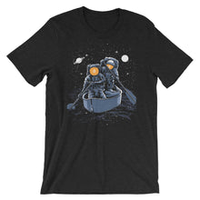 Load image into Gallery viewer, Bitcoin Spacemen Ocean Starts Moon Hodl Short-Sleeve T-Shirt | Cryptotshirt.com