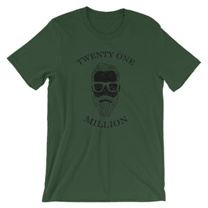 Twenty One Million Man Short-Sleeve T-Shirt | Cryptotshirt.com