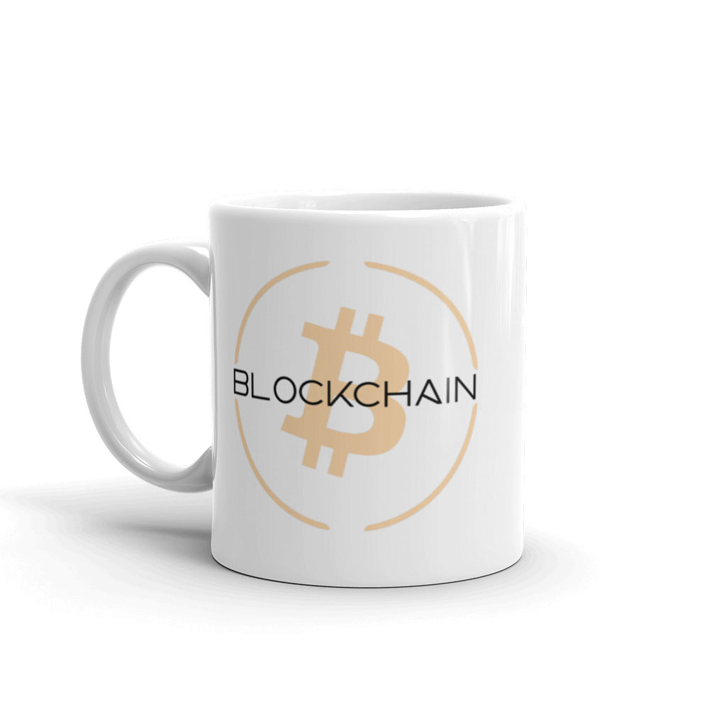 Blockchain Ceramic Coffee Mug | Cryptotshirt.com
