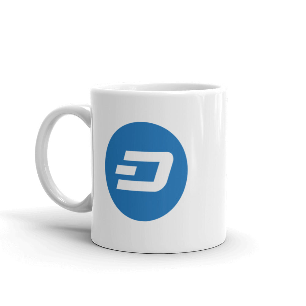 Dash Ceramic Coffee Mug | Cryptotshirt.com
