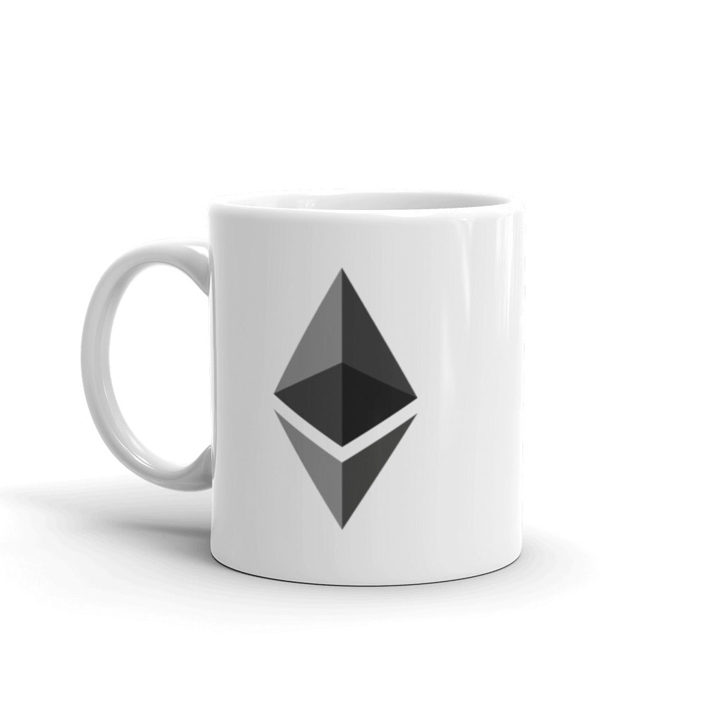 Ethereum Ceramic Coffee Mug | Cryptotshirt.com
