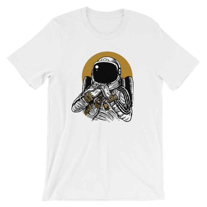 Spaceman Blockchains Short-Sleeve T-Shirt | Cryptotshirt.com