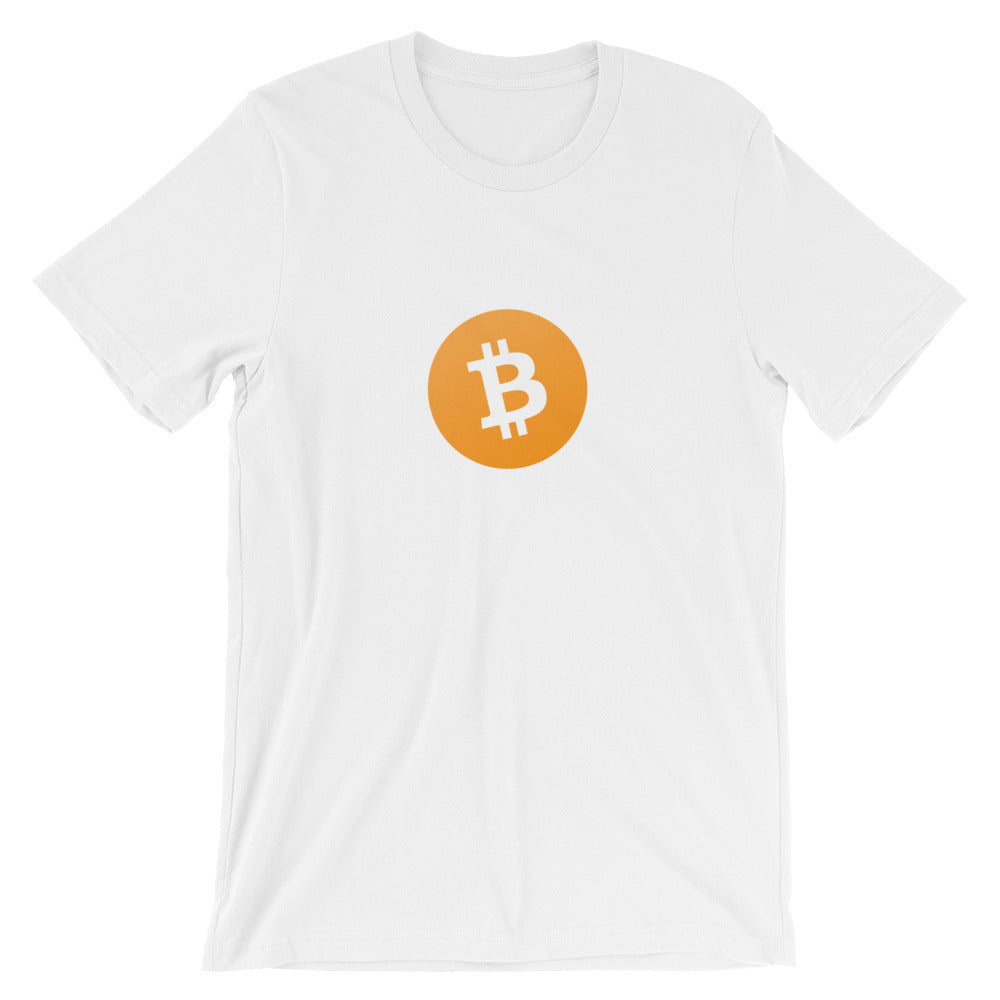 Bitcoin Short-Sleeve T-Shirt | Cryptotshirt.com