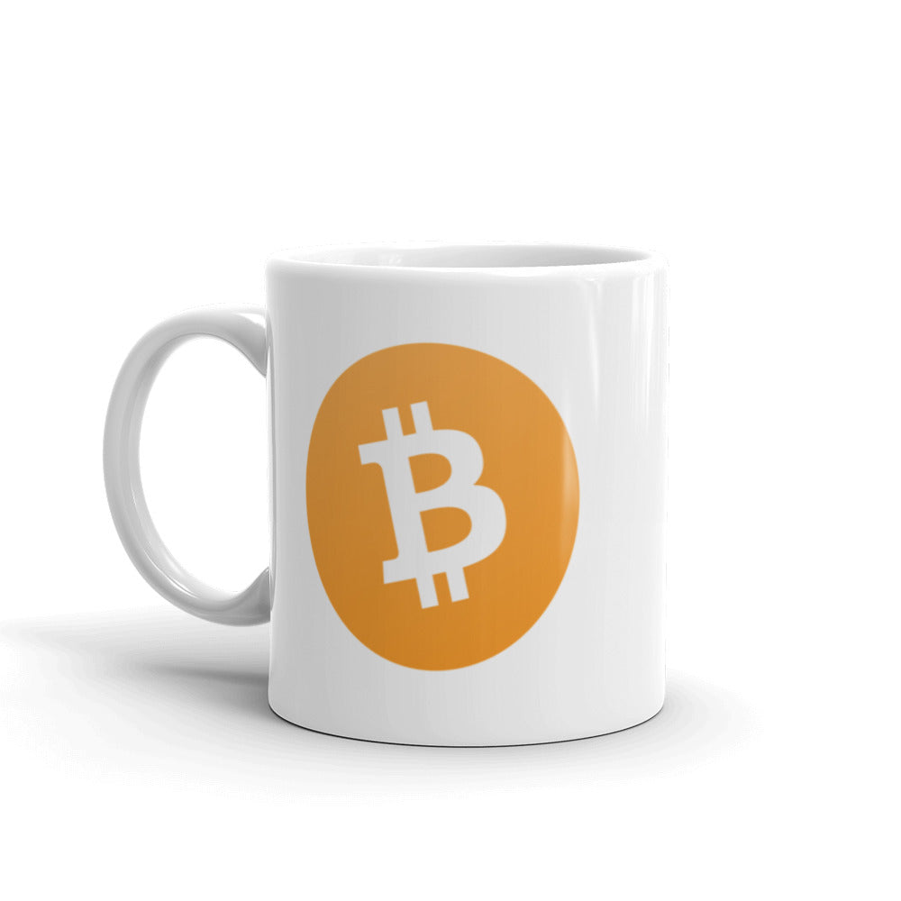 Bitcoin Ceramic Coffee Mug | Cryptotshirt.com