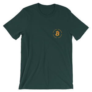 The Bitcoin Short-Sleeve T-Shirt | Cryptotshirt.com