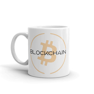 Bitcoin Blockchain Ceramic Coffee Mug | Cryptotshirt.com