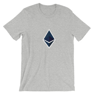 Ethereum Trim Short-Sleeve T-Shirt | Cryptotshirt.com