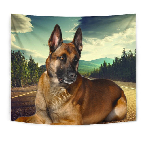 Malinois Dog Print Tapestry-Free Shipping