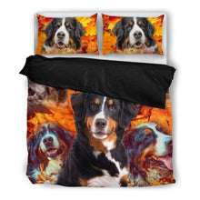 Bernese Mountain Dog Bedding Set- Free Shipping