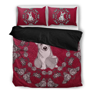 Valentine's Day Special-Pembroke Welsh Corgi Dog Print Bedding Set-Free Shipping