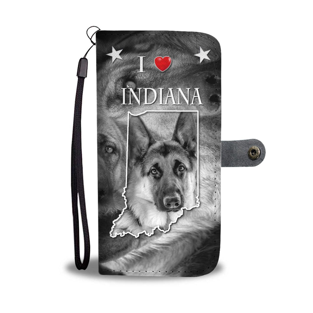 Amazing German Shepherd Print Wallet Case-Free Shipping-IN State