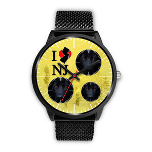 Black German Shepherd New Jersey Christmas Special Wrist Watch-Free Shipping