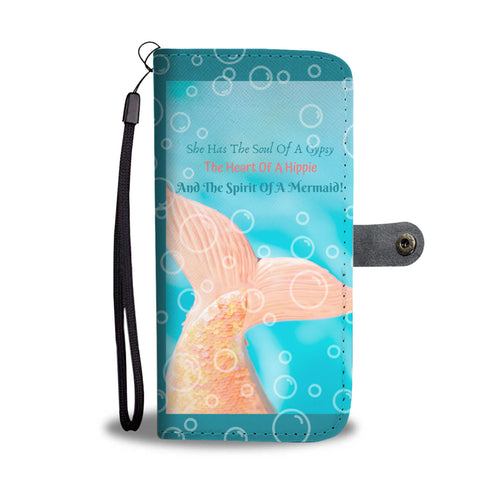 Spirit of a Mermaid Mobile Wallet