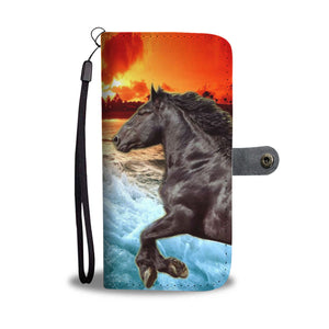 Percheron Horse Print Wallet Case- Free Shipping