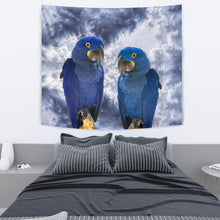 Cute Hyacinth Macaw Print Tapestry-Free Shipping