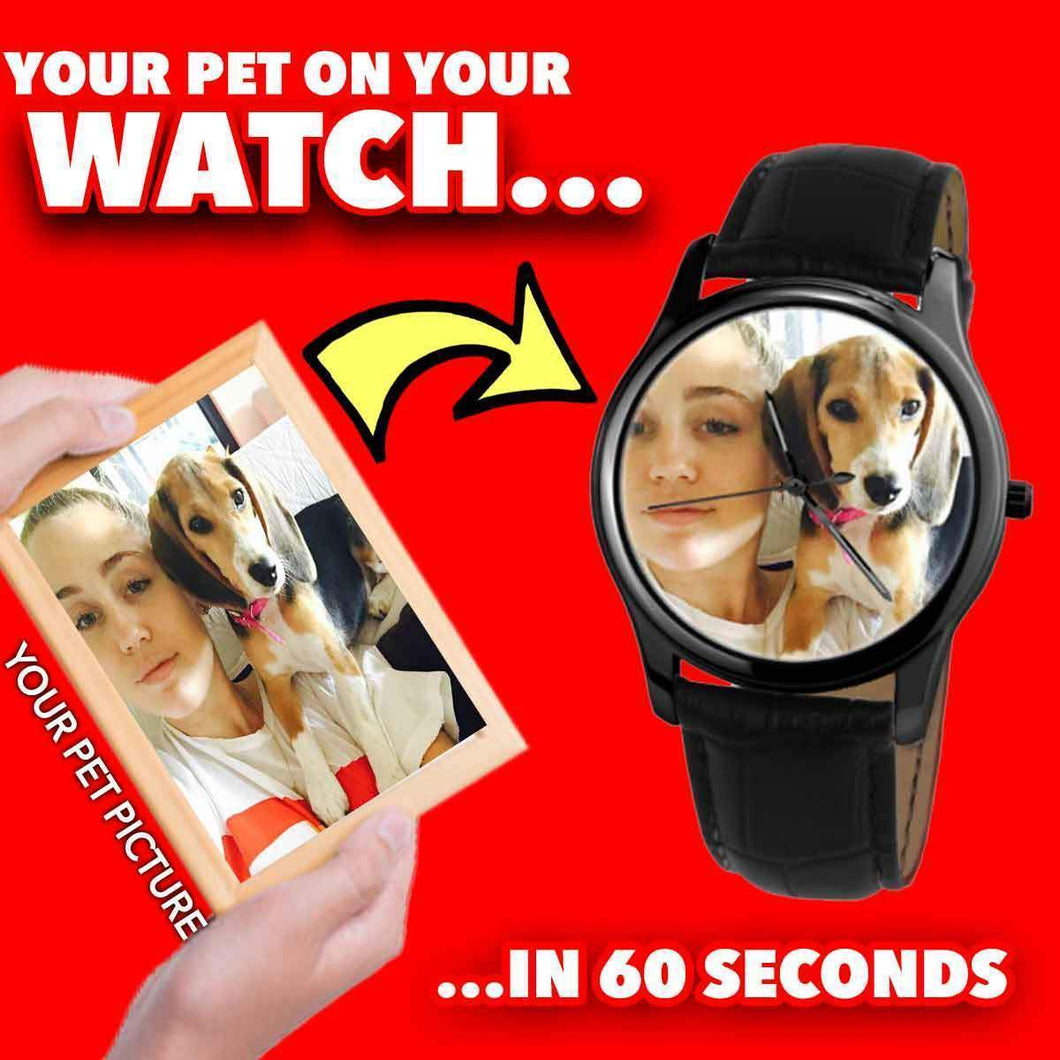 Your Pet on Your Wrist Watch!