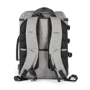 GREAT GIFT IDEA!  A messenger bag and A backpack-The Transformer A-Gray