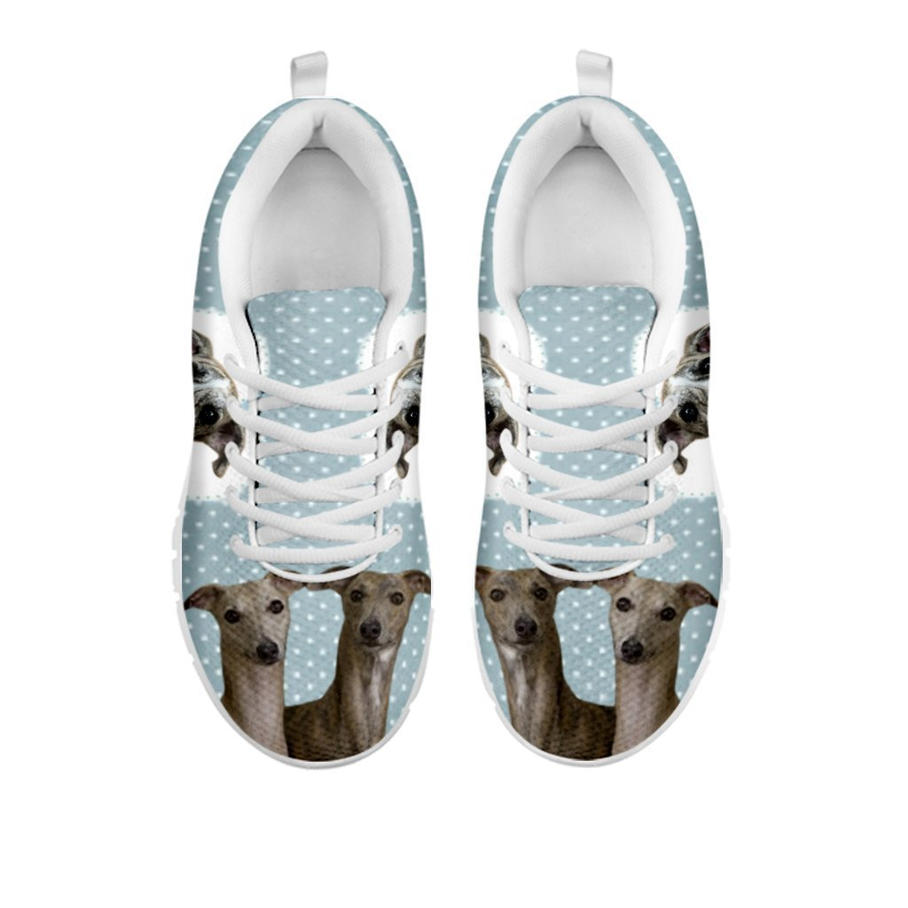 Amazing Whippet With Hearts Print Running Shoes For Women-Free Shipping-For 24 Hours Only