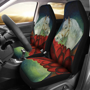 Belgian Horse Print Car Seat Covers- Free Shipping