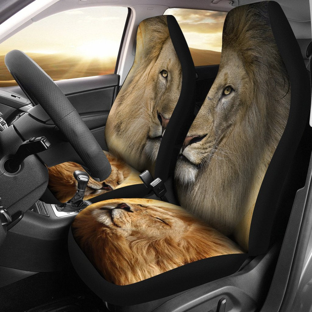 Lion Print Car Seat Covers- Free Shipping