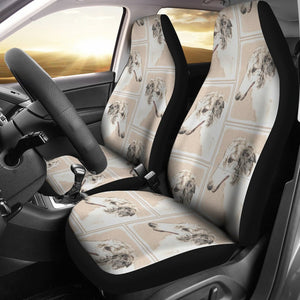 Borzoi Dog Patterns Print Car Seat Covers-Free Shipping