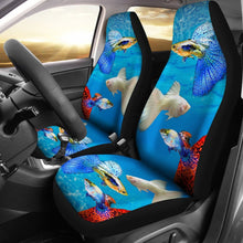 Guppy Fish Print Car Seat Covers-Free Shipping